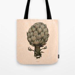 artichoke yoga Tote Bag