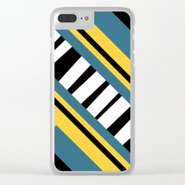 Abstract design 3 Clear iPhone Case