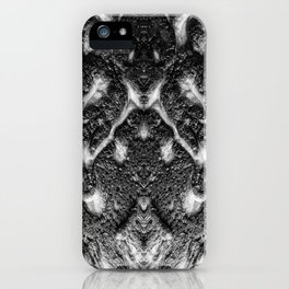 Mamba  Chief - Black and White Abstract Artwork iPhone Case