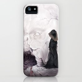 Death Claims the Godhead iPhone Case