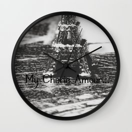 My Cherie Amour... Wall Clock