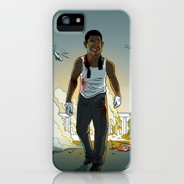 The Butler of White House Down iPhone Case