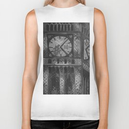 Big Ben by Lu, Black and White Biker Tank