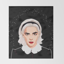 Sabrina Spellman Throw Blanket