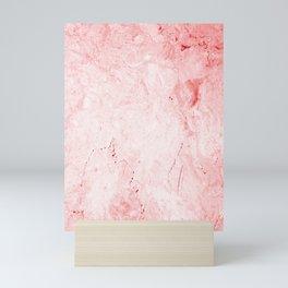 Red Marble Mini Art Print