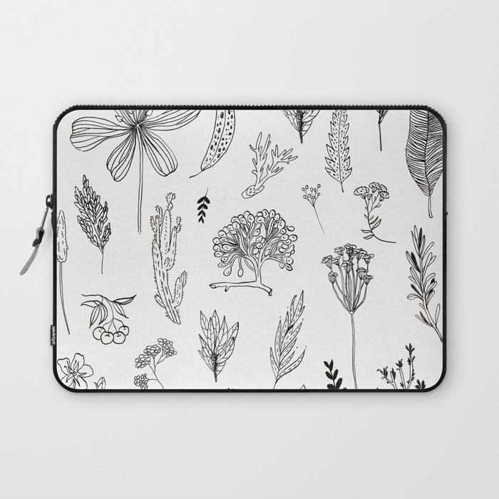 Graphical herbs Laptop Sleeve