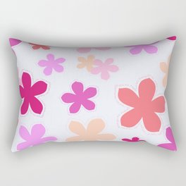 Anohana Flowers Rectangular Pillow