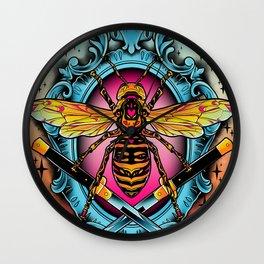 Giant Hornet Wall Clock