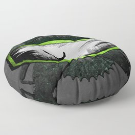 Mask MTB Logo Floor Pillow