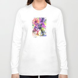 Floral Dance No. 5 by Kathy Morton Stanion Long Sleeve T-shirt