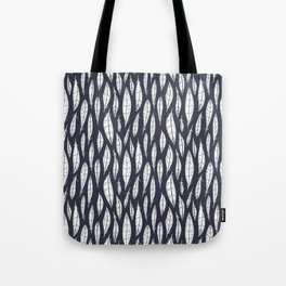 Quail Feathers (Midnight) Tote Bag