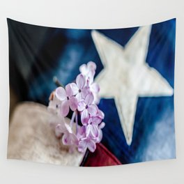 Lilac & The Lone Star Wall Tapestry