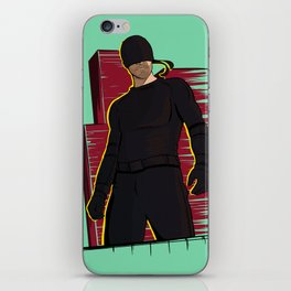 Man in the Mask iPhone Skin