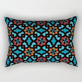 Beautiful oriental flower pattern 3 Rectangular Pillow