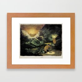 World At War - 'Cookout' Framed Art Print
