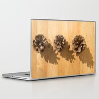 pineapples Laptop & iPad Skins featuring pineapples by Nit Bruna