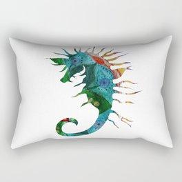 Seahorse Flow Rectangular Pillow