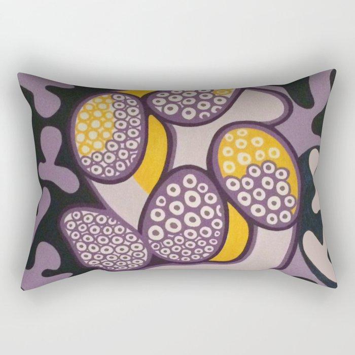 Yellow gossip Rectangular Pillow