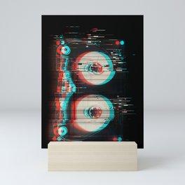 Audio Glitch Mini Art Print