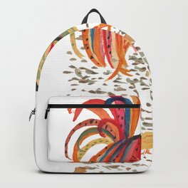 Rooster and chicks Backpack