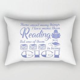 Reading Gigi Rectangular Pillow