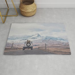 NEVER STOP EXPLORING ICELAND Rug