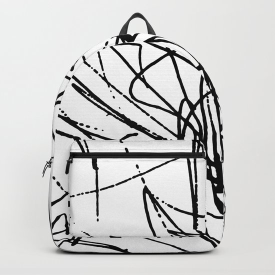 Daisy Scribble Backpack