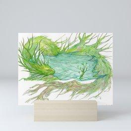 Sapling Dragon Mini Art Print