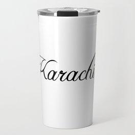 Karachi Travel Mug