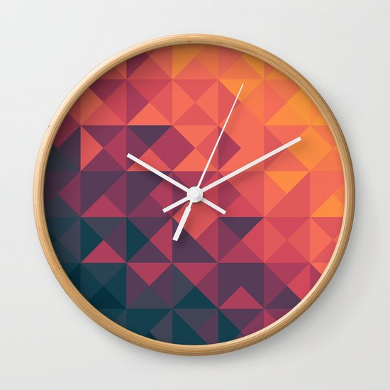 Infinity Twilight Wall Clock