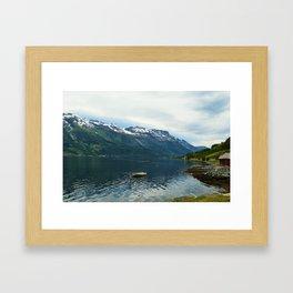 Norway Waters Framed Art Print