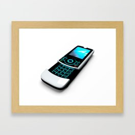 Old Cel Phone Framed Art Print