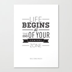 Type Poster - Neale Donald Walsch Canvas Print