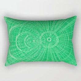 Circle Art  Rectangular Pillow
