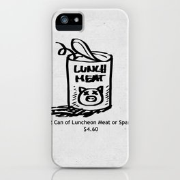 Luncheon Meat iPhone Case