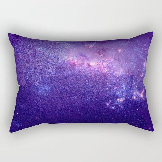 purple mandalas Rectangular Pillow