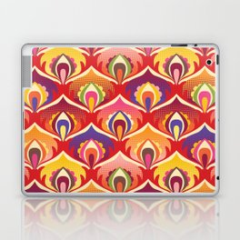 Flower power hippie floral Laptop & iPad Skin