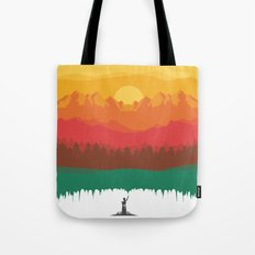 Layers Of Nature Tote Bag