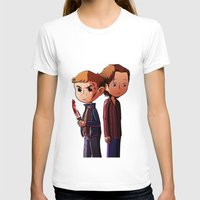 winchester T-shirts featuring Winchester brothers by Kaori
