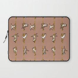 Cats Pole Dancing Club Laptop Sleeve