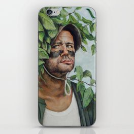 Carl Spackler - Caddyshack Bill Murray Painting iPhone Skin