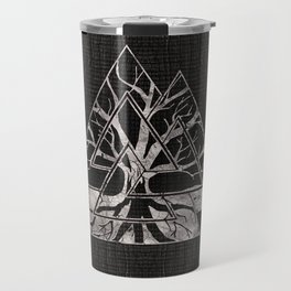 Valknut Symbol and Tree of life  -Yggdrasil Travel Mug