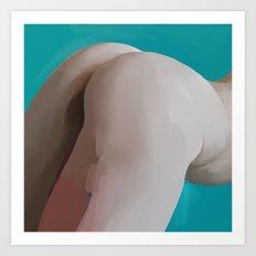 Tushie 8 Art Print