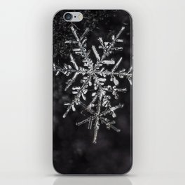Two Snowflakes iPhone Skin