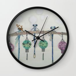 Office Party Wall Clock