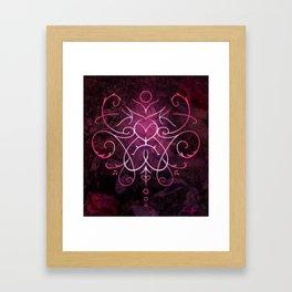 Sigil of Self Love and Self Care Framed Art Print