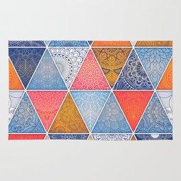 Pattern Mandala Losange Rug
