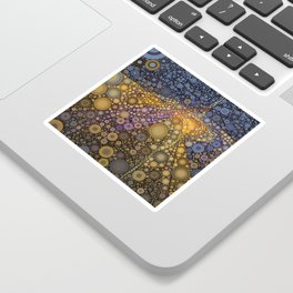 Deep Roots Abstract Sticker