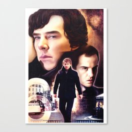 Sherlock - The Game Canvas Print