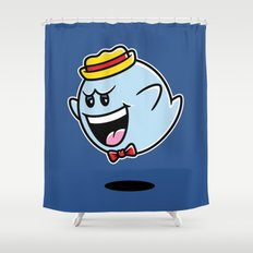 Super Cereal Ghost Shower Curtain